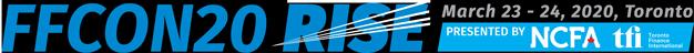 FFCON20: RISE | March 23-24, 2020  Toronto, Canada