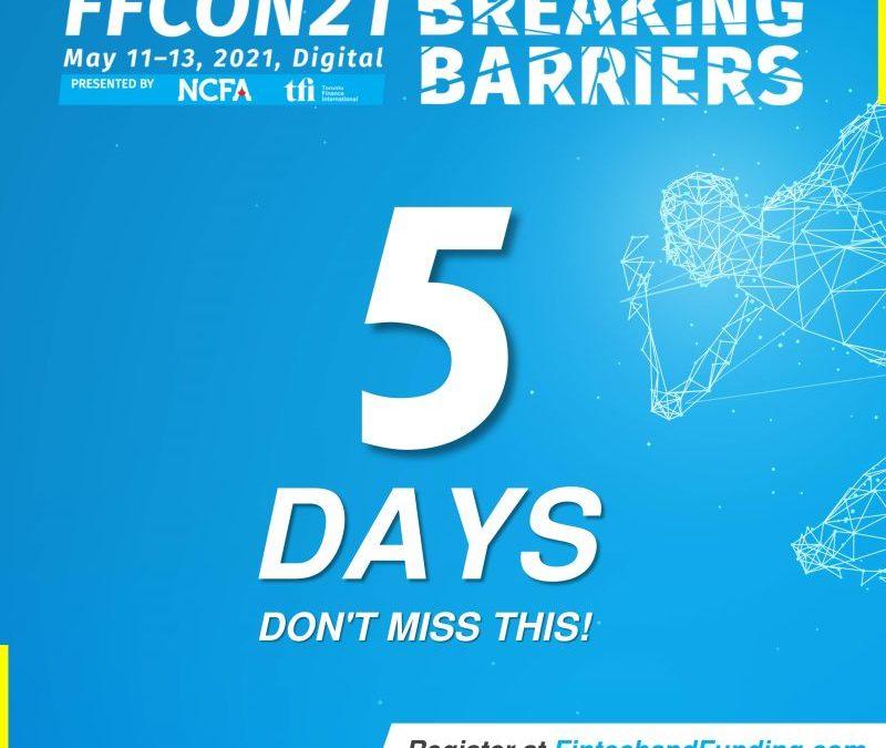 COUNTDOWN:  ONLY DAYS UNTIL FFCON21!