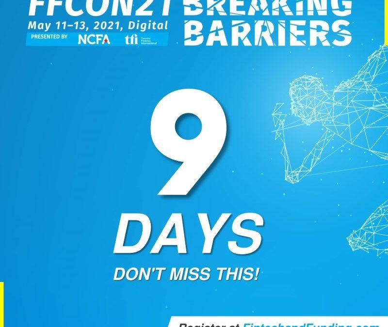 COUNTDOWN:  9 DAYS UNTIL FFCON21